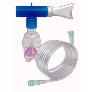 "Nebulizer, 7ft, Oxy Tubing, ""T"" Pc, Mouth Piece"
