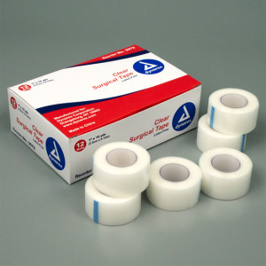 Dynarex Surgical Tape - Transparent / Clear