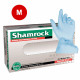 Shamrock Nitrile Exam Gloves Powder Free Textured Blue 5Mil - M