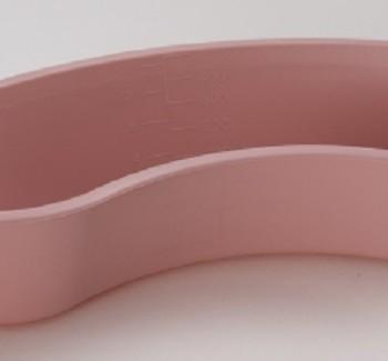 Mckesson Emesis Basin Mauve 500 cc 9 Inch Polypropylene Kidney Shape